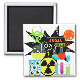 Mad  Scientist Refrigerator Magnet