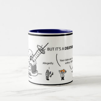 Mad Scientist Monthly Comic Deathray Mug