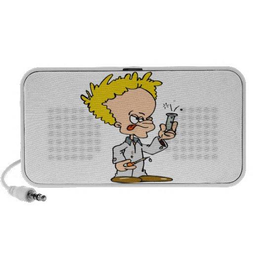 Mad Scientist Mp3 Speakers