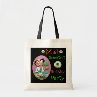 Mad Scientist Party Tote Bag