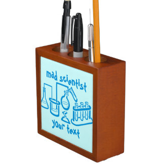 Mad Scientist Pencil/Pen Holder