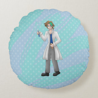 mad scientist pillow