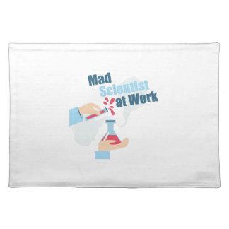 Mad Scientist Cloth Place Mat