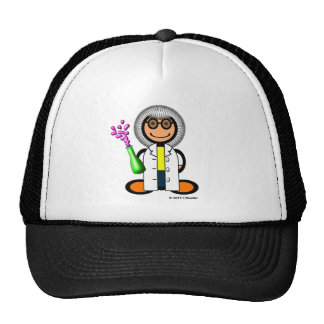 Mad scientist (plain) mesh hat