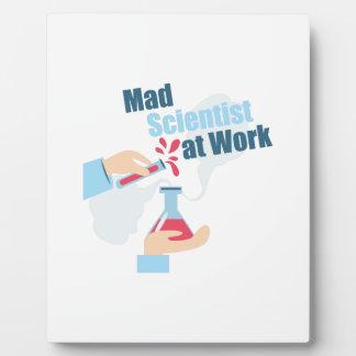 Mad Scientist Plaques