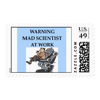 MAD scientist Stamps