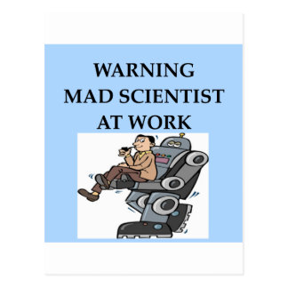 MAD scientist Post Cards