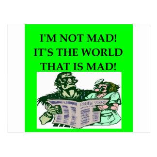 MAD scientist Postcards