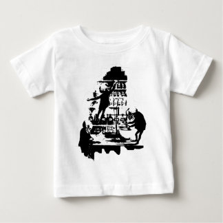 Mad Scientist Skeletons Baby T-Shirt