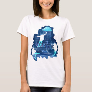 Mad Scientist Skeletons X-ray T-Shirt
