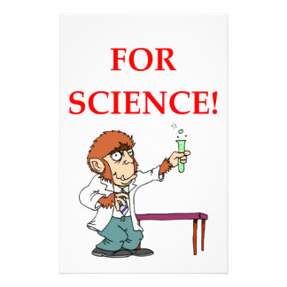mad scientist stationery