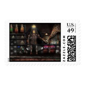 Mad Scientist - The Enforcer Postage Stamps
