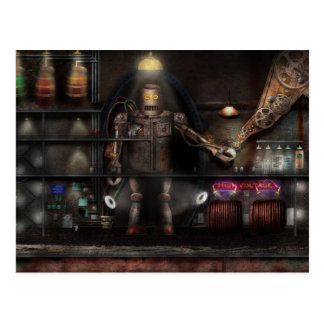 Mad Scientist - The Enforcer Postcard