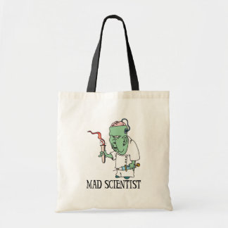 Mad Scientist Trick-or-Treat Bag Canvas Bag