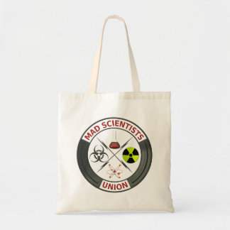 Mad Scientist Union Budget Tote Bag