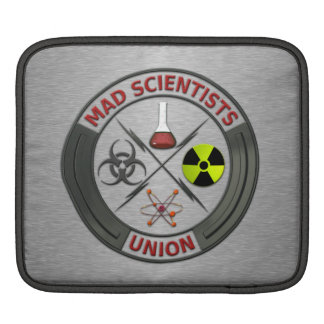 Mad Scientist Union Sleeve For iPads