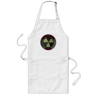 Mad Scientist Union Logo with Radioactive Symbol Apron