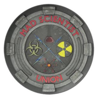 Mad Scientist Union Plate