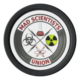 Mad Scientist Union Poker Chips