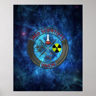 Mad Scientist Union Poster