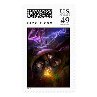 Mad Scientist - Your operation was a success Postage