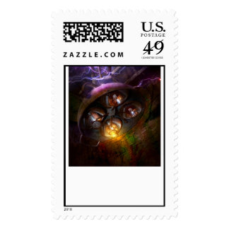 Mad Scientist - Your operation was a success Postage Stamp