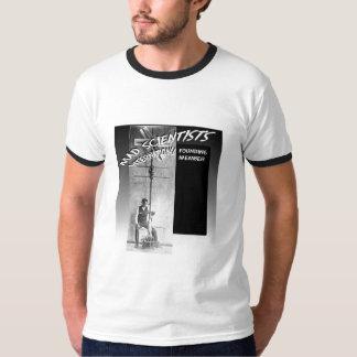 Mad Scientists International-Flying Bushel Basket T-Shirt