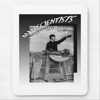 Mad Scientists International-Santo-Dumont Airship Mouse Pad