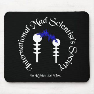Mad Scientist's Society Mousepad