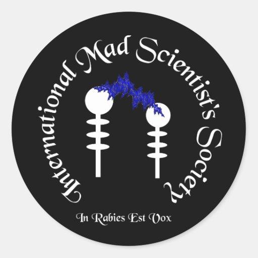Mad Scientist's Sticker