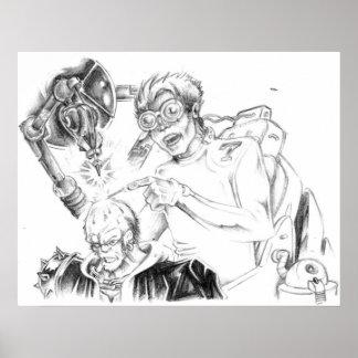 Mad Skillustrator - poster