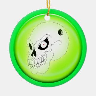 Mad Skull Ornament