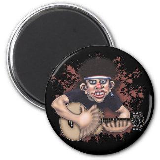 Mad Strummer 2 Inch Round Magnet