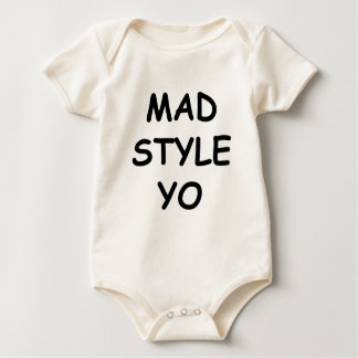 Mad Style YO Baby Bodysuit