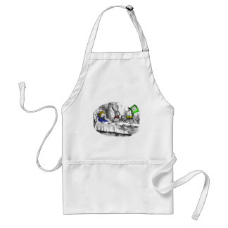 Mad Tea Party Adult Apron