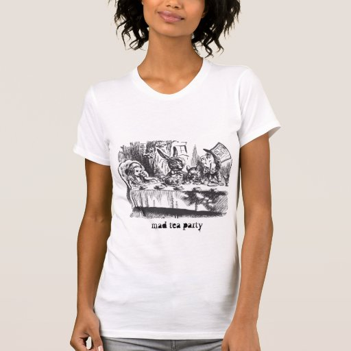 mad tea party alice adventures wonderland shirts