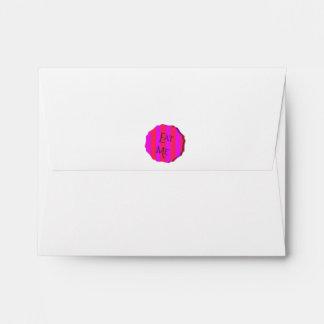 MAD TEA PARTY-EAT ME Party Invitation Envelope