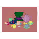 Mad Tea Party Greeting / Note Card