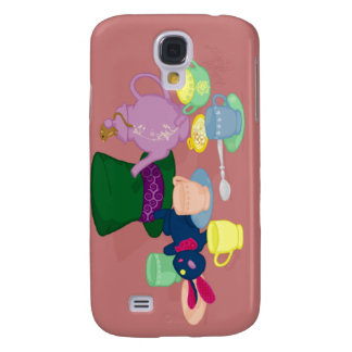 Mad Tea Party iPhone 3G/3GS Case Galaxy S4 Cover