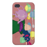 Mad Tea Party iPhone 4 Case