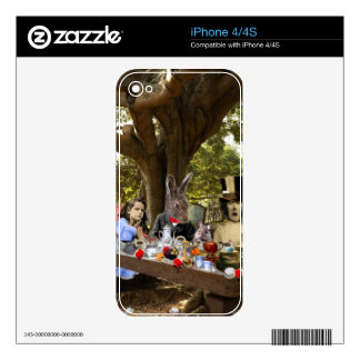 Mad Tea Party iPhone 4S Skin