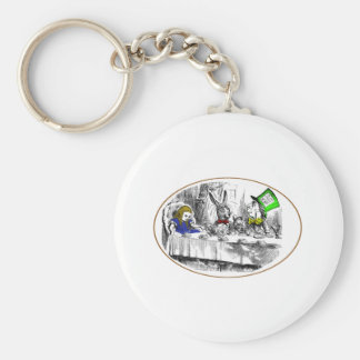 Mad Tea Party Keychain