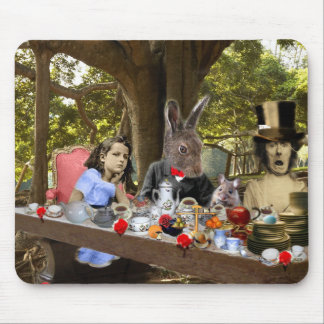 Mad Tea Party Mouse Pad