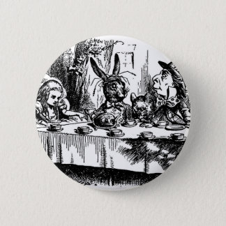 Mad Tea Party Pinback Button