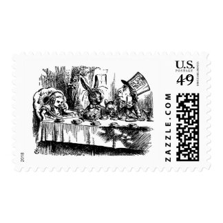 Mad Tea Party Postage