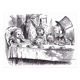 Mad Tea Party Postcard