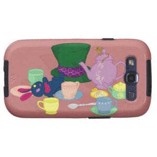Mad Tea Party Samsung Galaxy S Case Samsung Galaxy SIII Covers