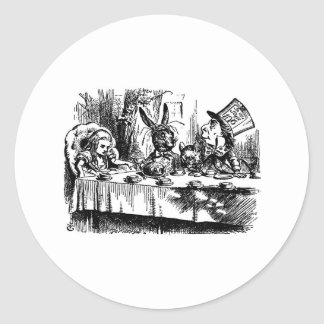 Mad Tea Party Stickers