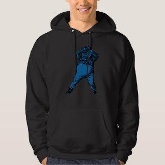 Mad Tweedle Dee Inked Blue Fill Hoodie