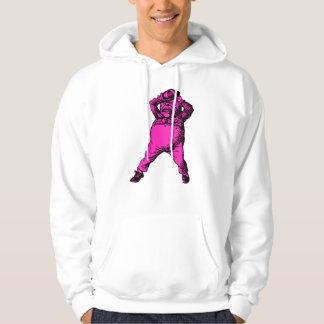 Mad Tweedle Dee Inked Pink Fill Hoodie